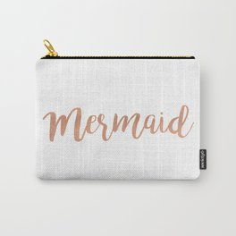 Mermaid Copper Carry-All Pouch