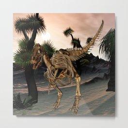 Awesome t-rex skeleton Metal Print