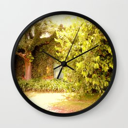 The Garden Door Wall Clock