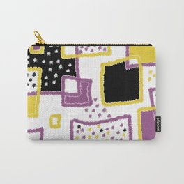 fuzzy rectangles Carry-All Pouch