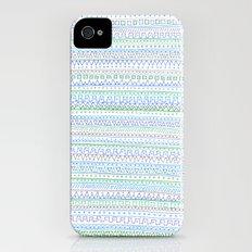 Blue Green Slim Case iPhone (4, 4s)