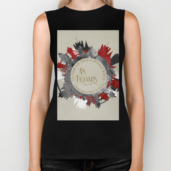 As Travars. For those who dream of stranger worlds. A Darker Shade of Magic. Biker Tank