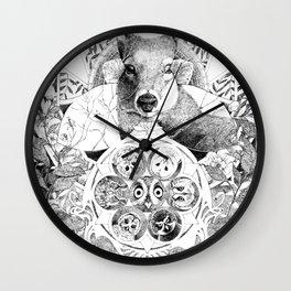 Owl Wheel Wall Clock