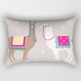 Drama Llama Rectangular Pillow