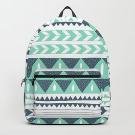 Winter Stripe Backpack