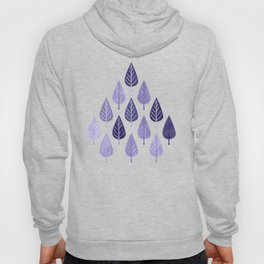 Watercolor Forest Pattern #8 Hoody