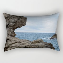 Ocean Rocks Rectangular Pillow