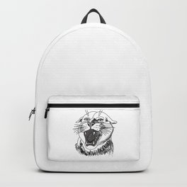 tiger angry growls ( https://society6.com/vickonskey/collection ) . Art Backpack