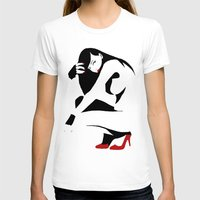 heels T-shirts featuring Red heels by rbengtsson
