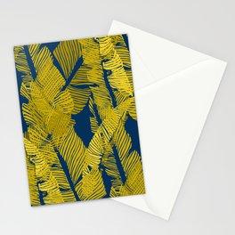 Carved Yellow&Blue Jungle #society6 #decor #buyart Stationery Cards