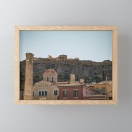 Acropolis, Athens, Greece Framed Mini Art Print