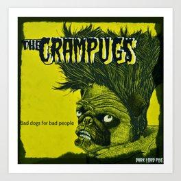 CRAMPUGS Art Print