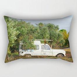 Vintage Farm Truck Rectangular Pillow