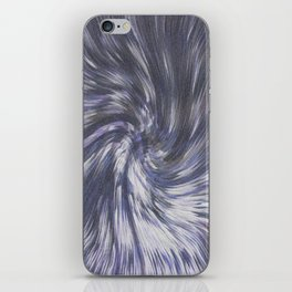 COMING OUT OF HYPERSPACE IN THE VEGA SYSTEM iPhone Skin
