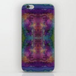 Watercolor Strength Print iPhone Skin
