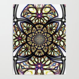 The Art Of Stain Glass Poster