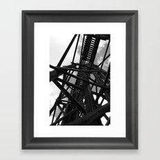 Historic Bridge Framed Art Print