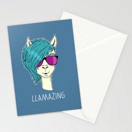 LLAMAZING llama Stationery Cards