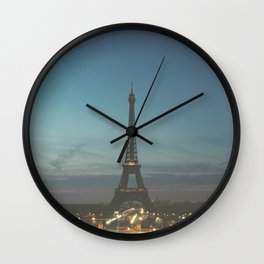 EIFFEL - TOWER - CITY OF PARIS Wall Clock