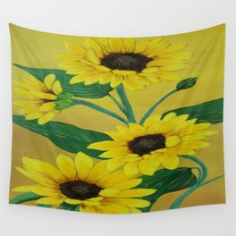 Sunny and bright Wall Tapestry
