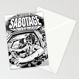 Sabotage Stationery Cards