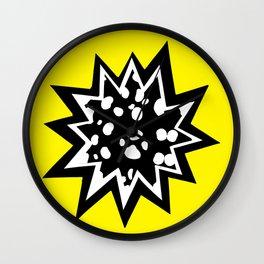 Star of Dalmatians Wall Clock