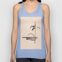 Abstract Landscpe Unisex Tank Top