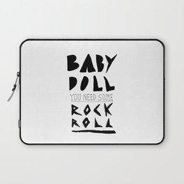 Baby Doll Laptop Sleeve