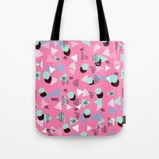 Painted minimal bright nursery pattern polka dots pattern Tote Bag