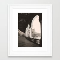 architecture Framed Art Prints featuring architecture by Armine Nersisian