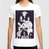ahs T-shirts featuring AHS Hotel by Jaimie Hutton