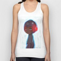 mega man Tank Tops featuring Mega Man 25th Anniversary by jaimito
