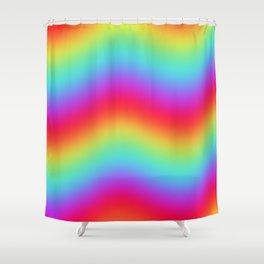 RAINBOW ENERGY Shower Curtain
