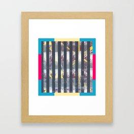 Polarised - frame graphic Framed Art Print