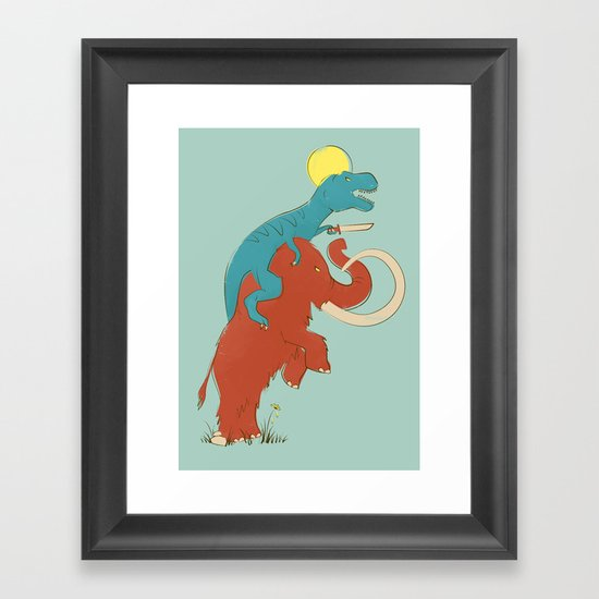 Charge! Framed Art Print