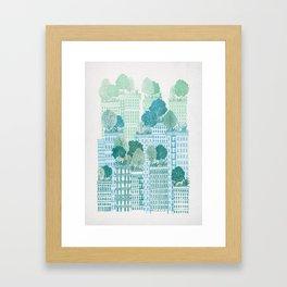 Juniper - A Garden City Framed Art Print