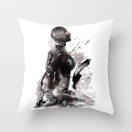 Fetish painting #3 Throw Pillow