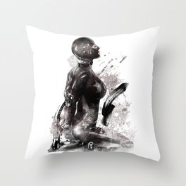Fetish painting #3 Throw Pillow