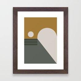 Contemporary Composition 12 Framed Art Print