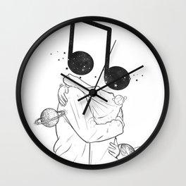 The music love. Wall Clock