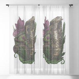 Cobra Sheer Curtain