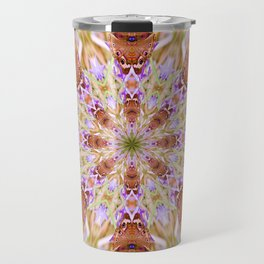 The Buckeye Butterfly Kaleidoscope Travel Mug