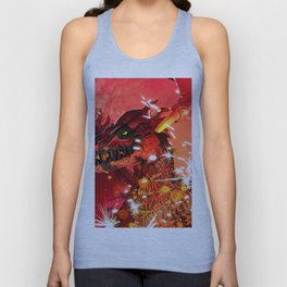 Fire Dragon Unisex Tank Top