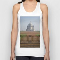 the national Tank Tops featuring Necropole National by davehare