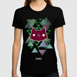Triangle Meows T-shirt