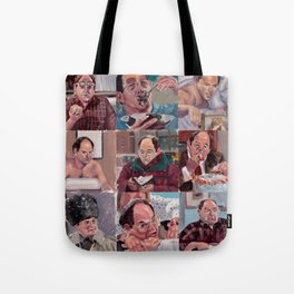 9 shades of Costanzas Tote Bag
