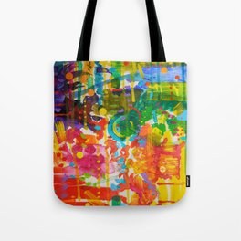 My Colour Wheel Exploded Tote Bag