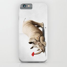 Horny (Wordless) iPhone Case