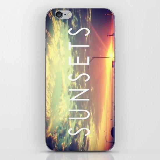 Sunsets iPhone & iPod Skin