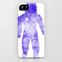 Rave Invaders PLUR Space Force Astronaut iPhone Case